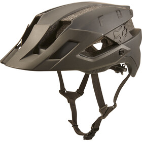 Fox Flux Solid Trail Helmet Herren navy/orange